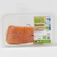 Pavés saumon Carrefour Bio