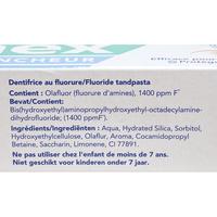 Elmex Sensitive blancheur - Liste des ingrédients