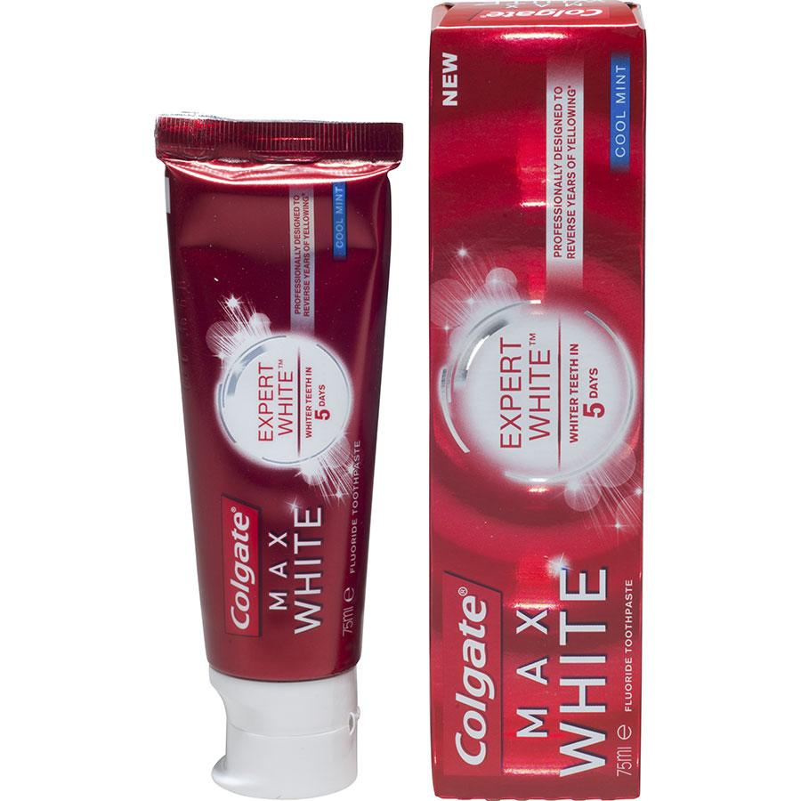 Colgate Max white Expert white cool mint - Visuel principal