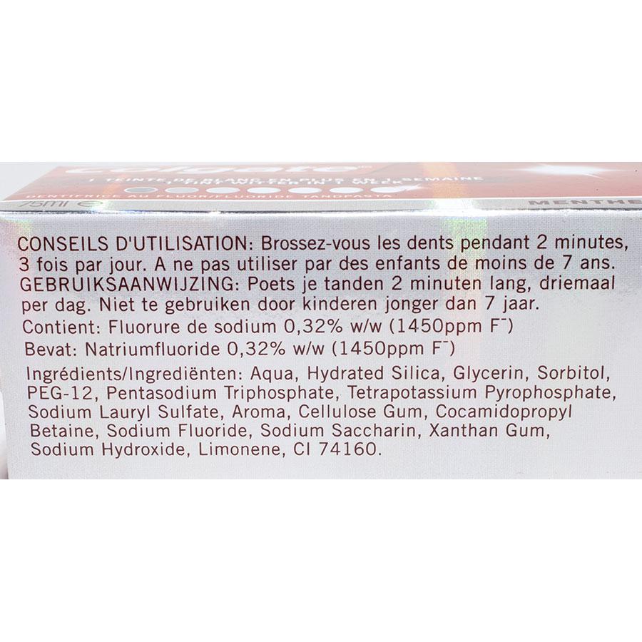 Colgate Max white One - Liste des ingrédients