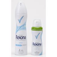 Rexona Coton Ultra Dry, spray - L'aérosol compressé de 100 ml offrirait la même durée d'utilisation que le format standard de 200 ml.
