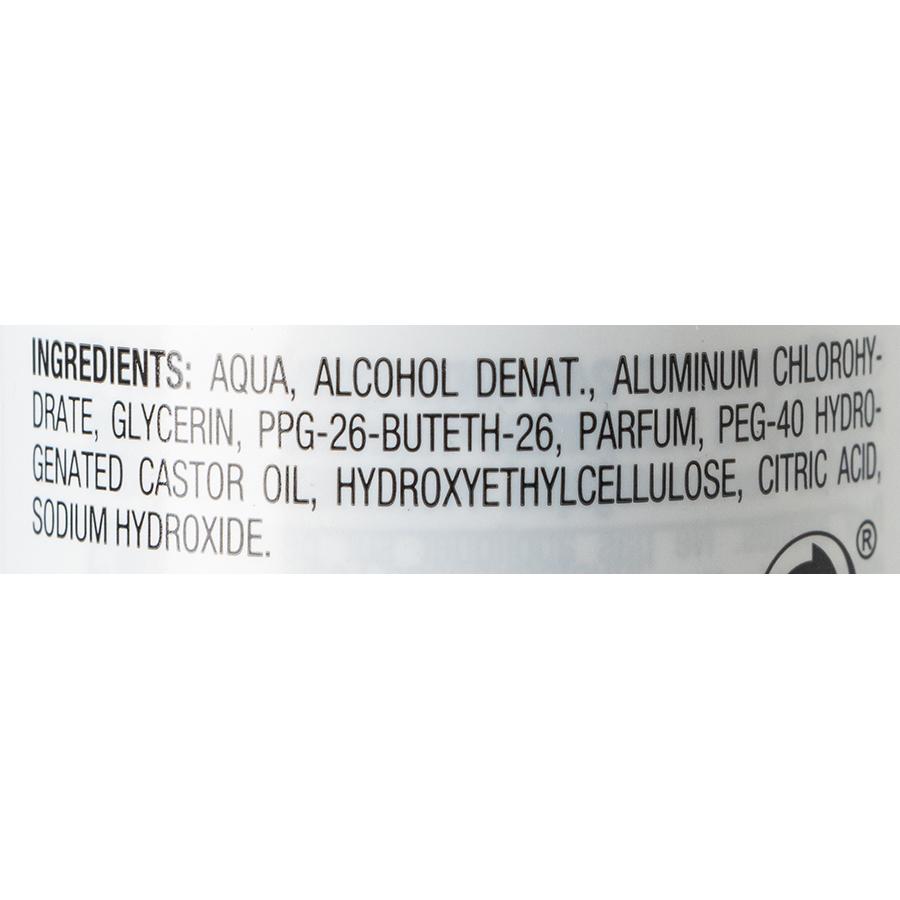 Carrefour Déodorant antitranspirant anti-traces blanches - Liste des ingrédients