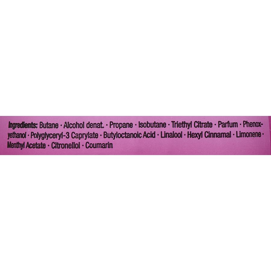 Fa Pink Passion - Liste des ingrédients