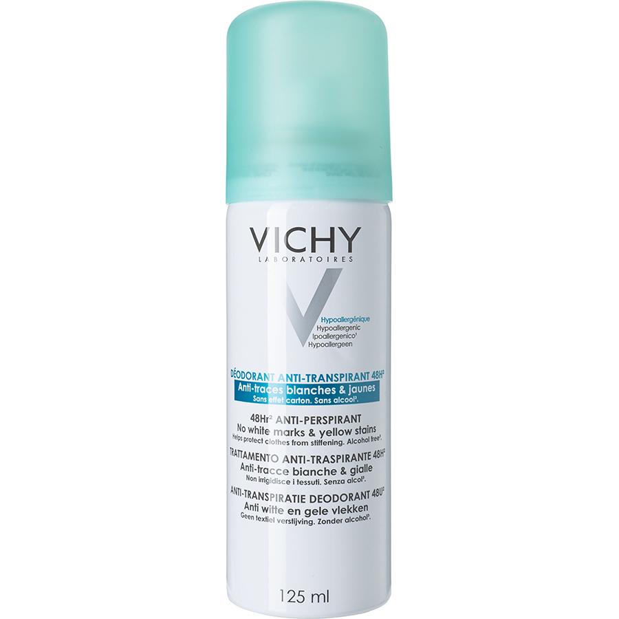 Vichy Déodorant antitranspirant anti-traces blanches et jaunes -