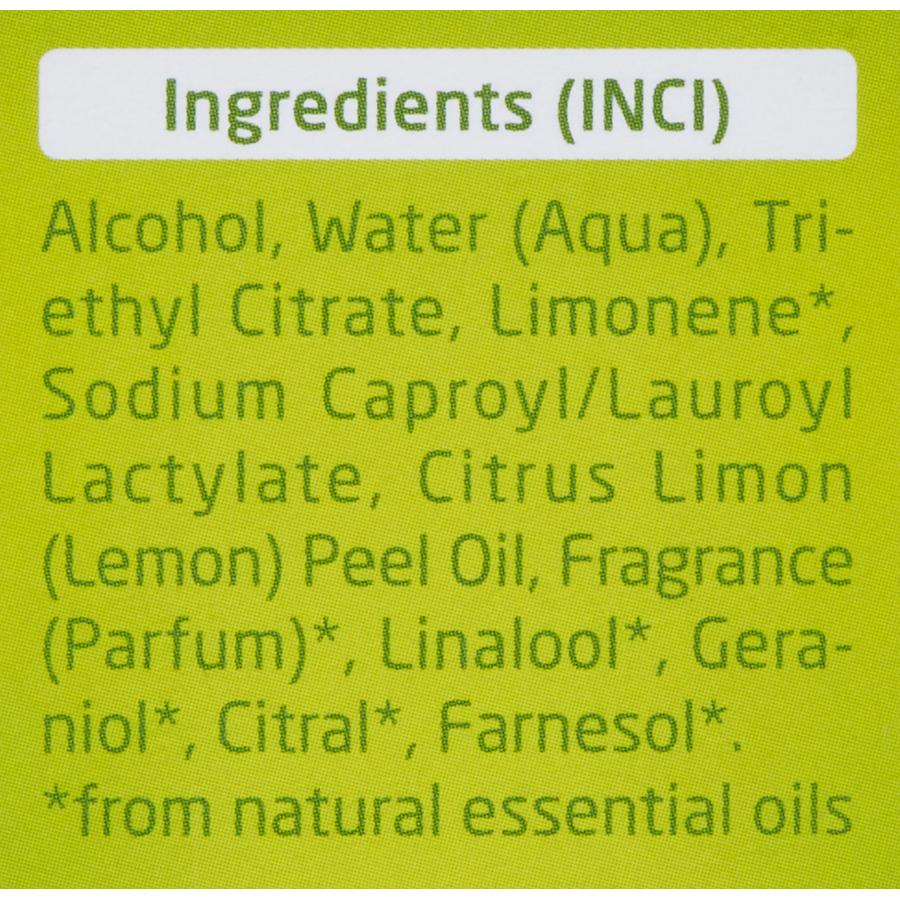Weleda Déodorant citrus - Liste des ingrédients