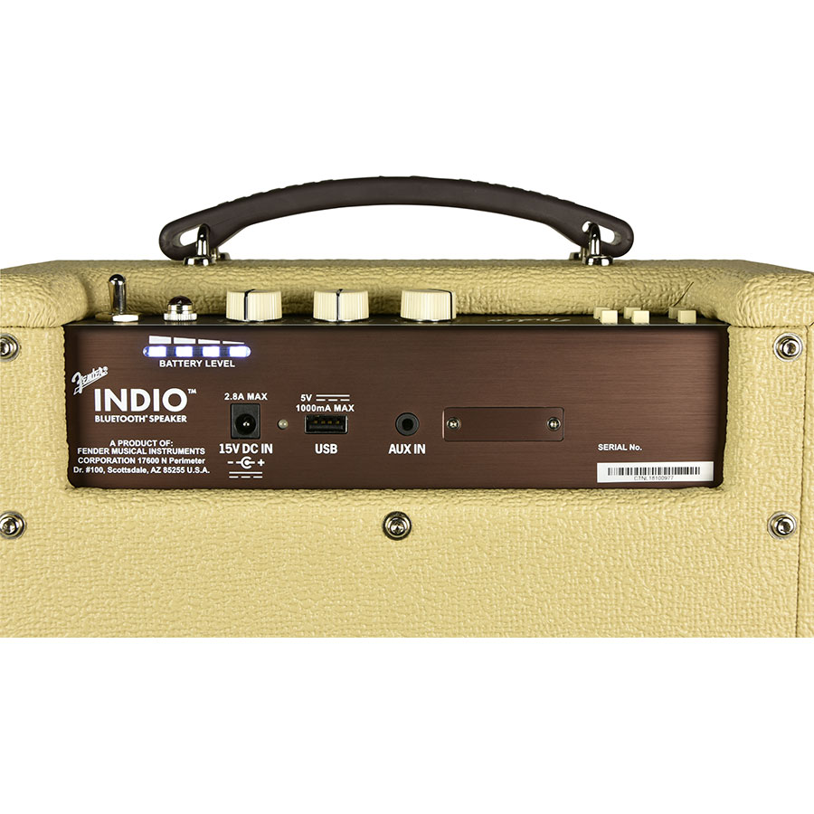 Fender Indio - Connectique