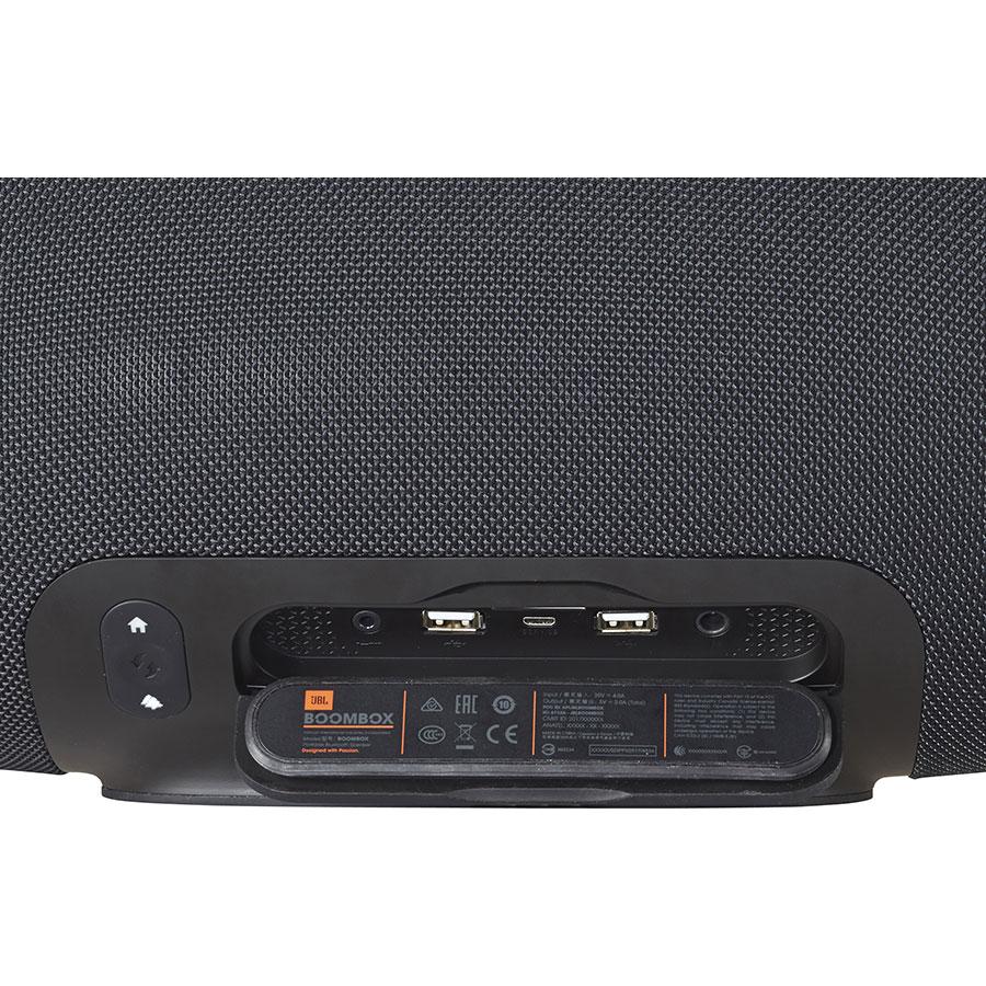 JBL Boombox - Connectique