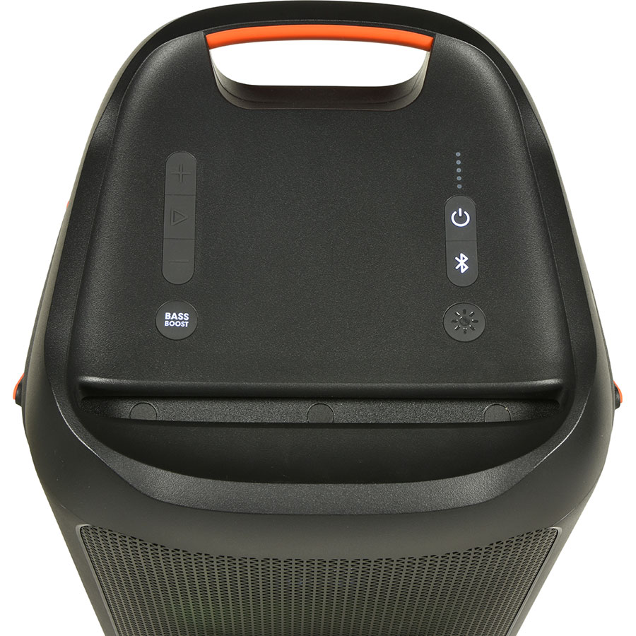 JBL Partybox 100 - Boutons de commandes