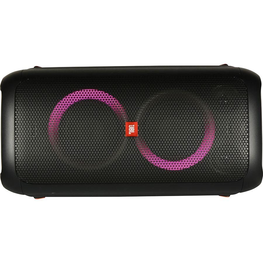 JBL Partybox 100 - Vue de l'enceinte posée à l'horizontale