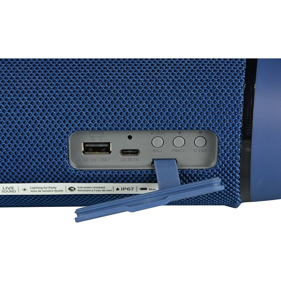 Sony SRS-XB33 - Connectique