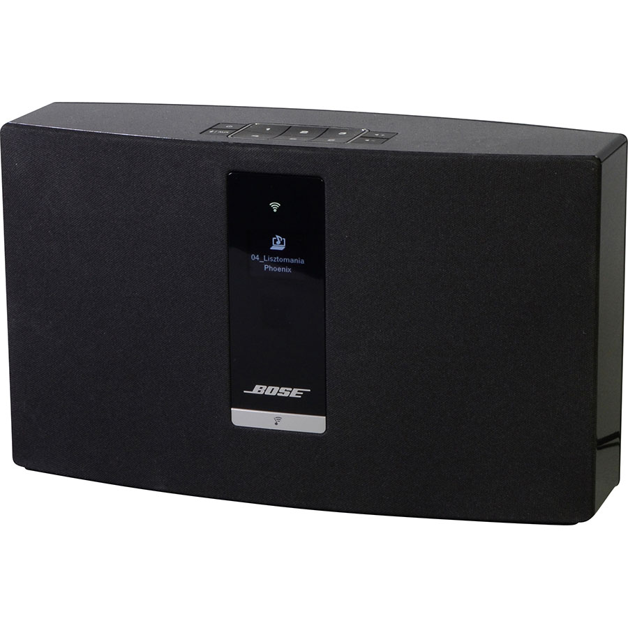 test bose soundtouch 20 enceintes sans fil ufc que choisir. Black Bedroom Furniture Sets. Home Design Ideas