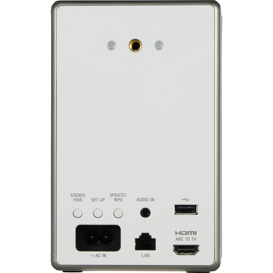 Sony SRS-ZR5 - Connectique