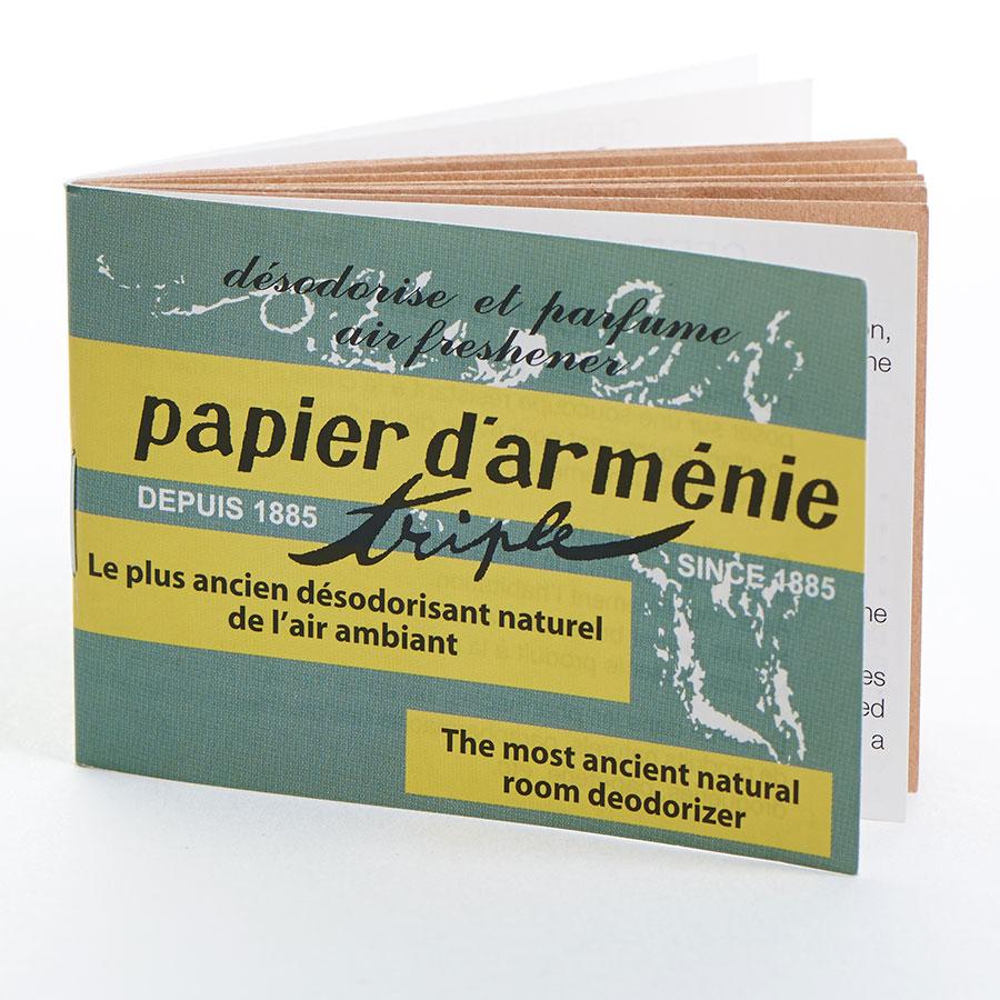 Papier d'arménie Triple (36 feuilles) -