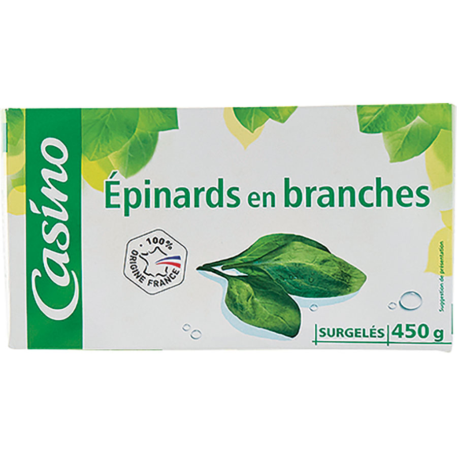 Casino Épinards en branches -
