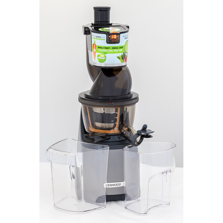 Kenwood Slow Juicer Jmp800si Pure Juice Pro : Test Kenwood Pure Juice Pro JMP800SI - Extracteurs de jus ...