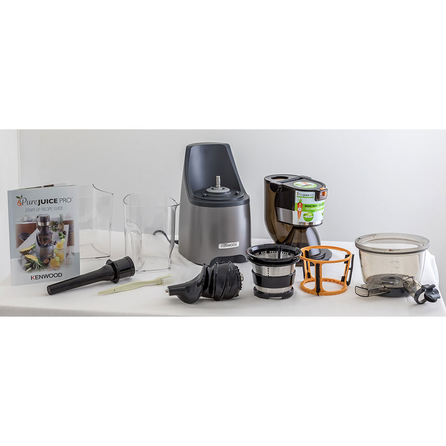 Test Kenwood Pure Juice Pro JMP800SI - Extracteurs de jus ...