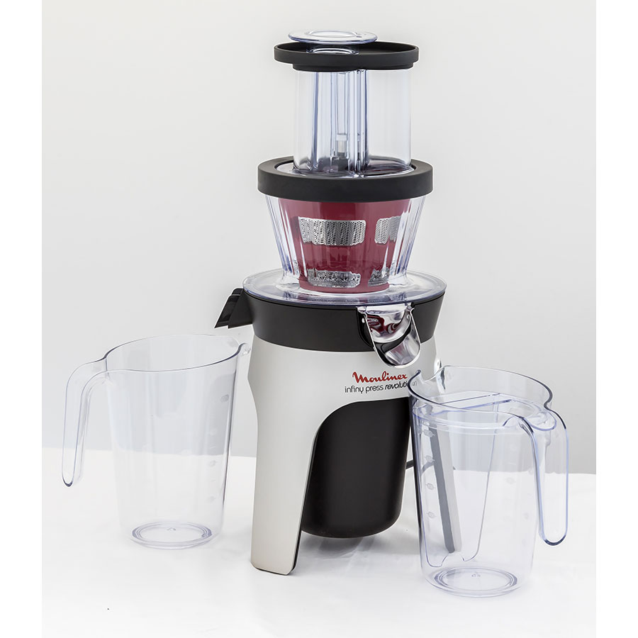 Test moulinex infiny press revolution zu500a10 - Extracteur de jus que choisir ...