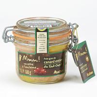 Mmm! (Auchan) Foie gras de canard entier du Sud-Ouest, recette à l'ancienne