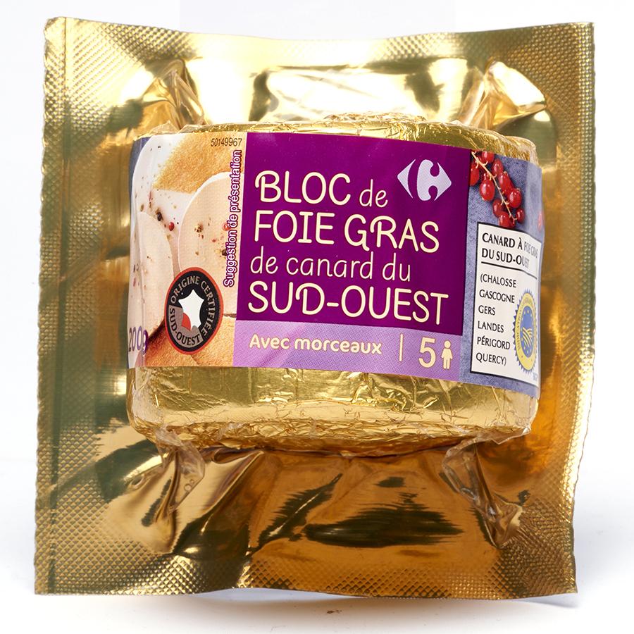 Carrefour Foie gras Sud-Ouest -