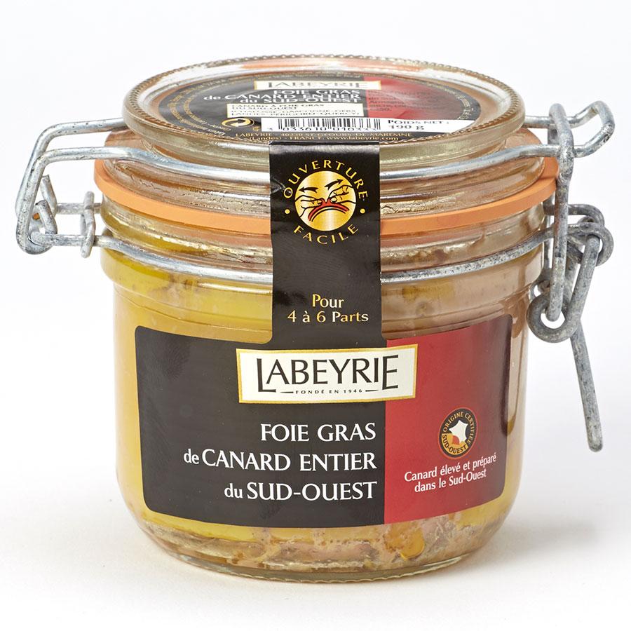 Labeyrie Foie gras de canard entier du Sud-Ouest -