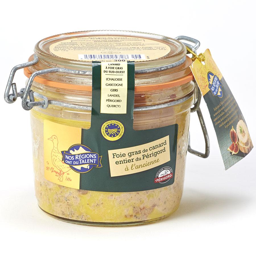 Nos régions ont du talent (Leclerc) Foie gras de canard entier du Périgord à l'ancienne -