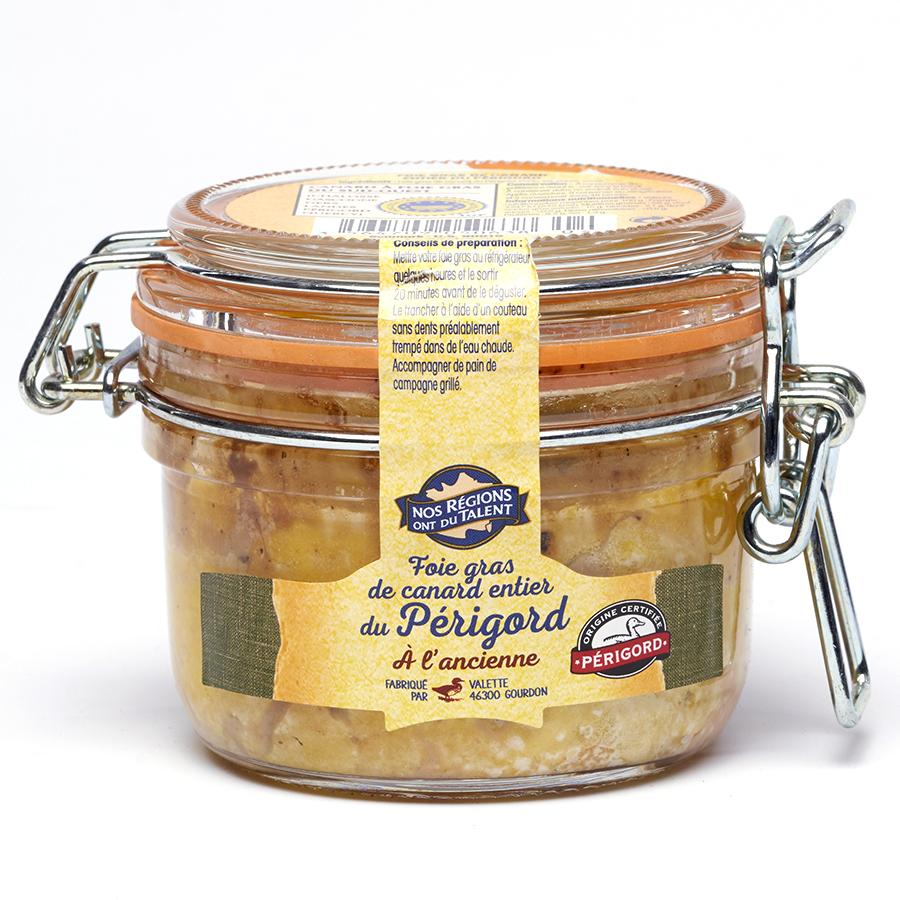Nos Régions ont du talent (Leclerc) Foie gras du Périgord à l'ancienne -