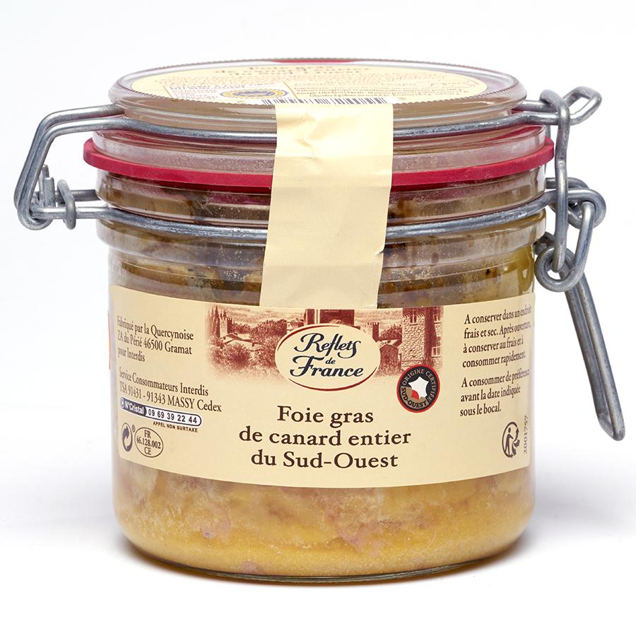 Reflets de France (Carrefour) Foie gras Sud-Ouest -
