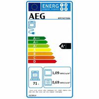 AEG BPE742720M - Étiquette énergie