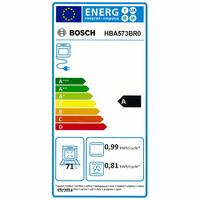 Bosch HBA573BR0(*43*) - Étiquette énergie