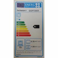 De Dietrich DOP7350X - Étiquette énergie