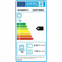 De Dietrich DOP7568G(*56*) - Étiquette énergie