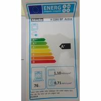 Miele H2265BP - Étiquette énergie