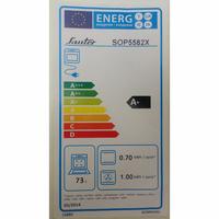 Sauter SOP5582X - Étiquette énergie