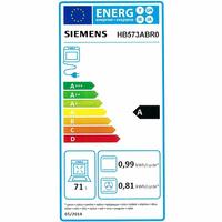Siemens HB573ABR0(*49*) - Étiquette énergie