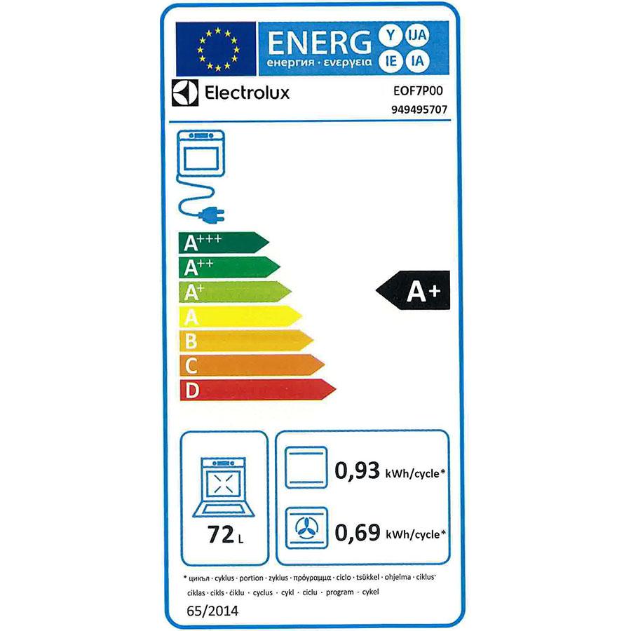 Difference Chaleur Pulsée Et Chaleur Tournante electrolux eof7p00rx