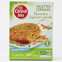 Céréal bio Galettes céréales épeautre légumes du jardin