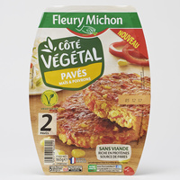 Fleury Michon Côté végétal Pavés maïs & poivrons