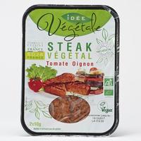Tossolia Idée végétale Steak végétal tomate oignon