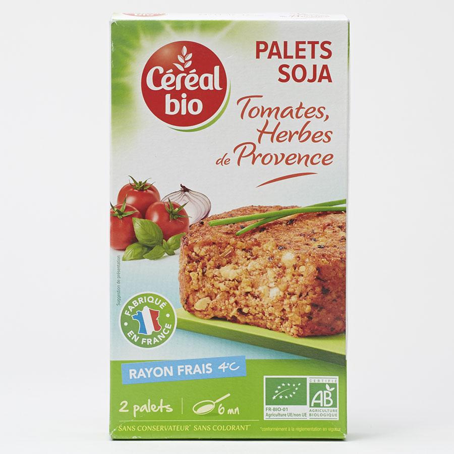 Céréal bio Palets soja tomates, herbes de Provence -