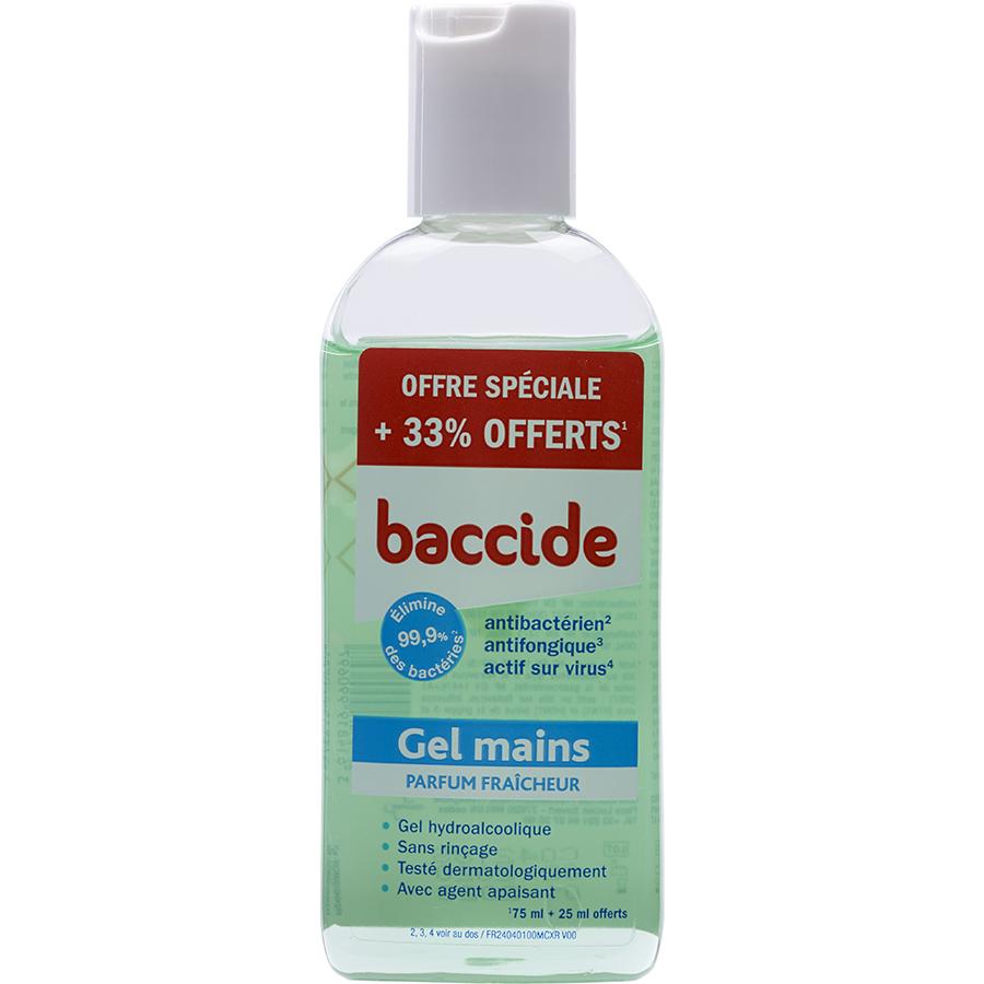 Baccide Gel mains parfum fraîcheur -