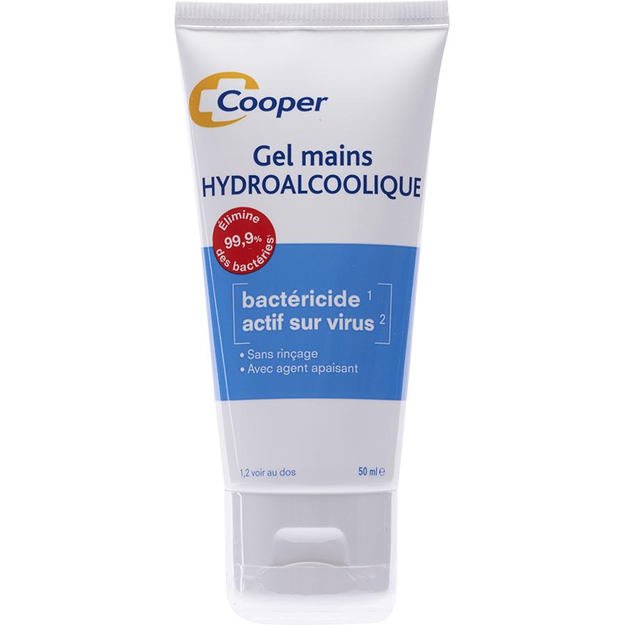 Cooper Gel mains hydroalcoolique -