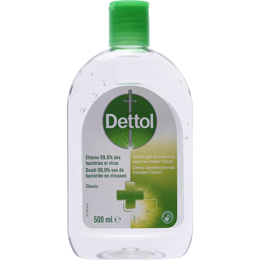 Dettol Gel désinfectant pour les mains classic -