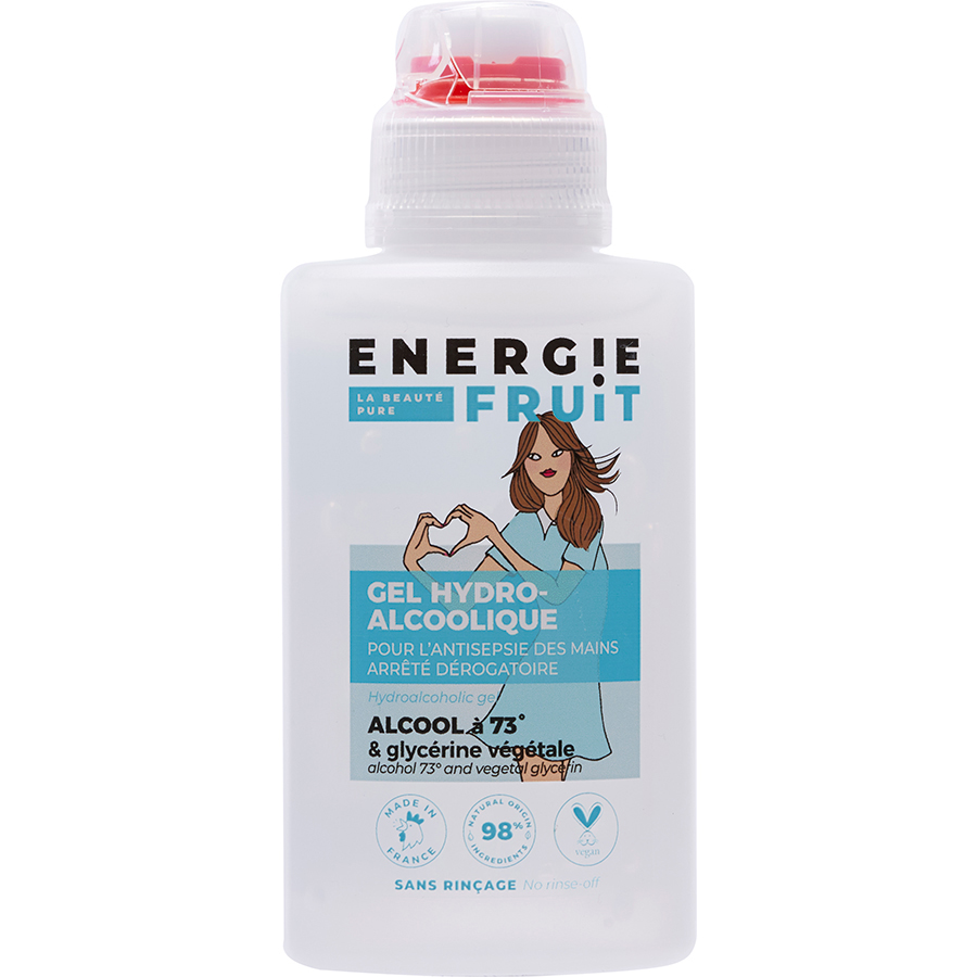Energie Fruit Gel hydroalcoolique -