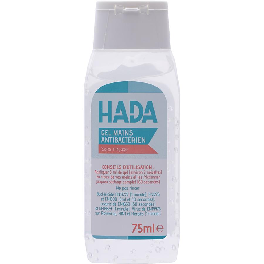 Hada Gel mains antibactérien sans rinçage -
