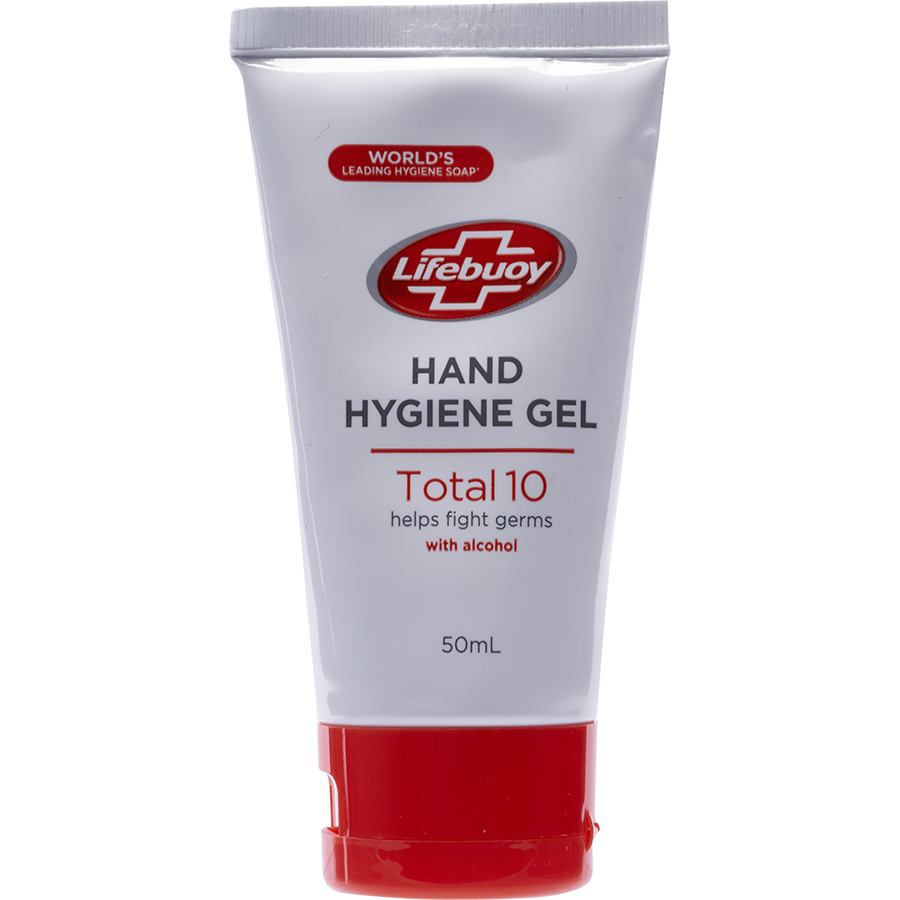 Life buoy Hand hygiene gel total 10 helps fight germs with alcohol(*41*) -