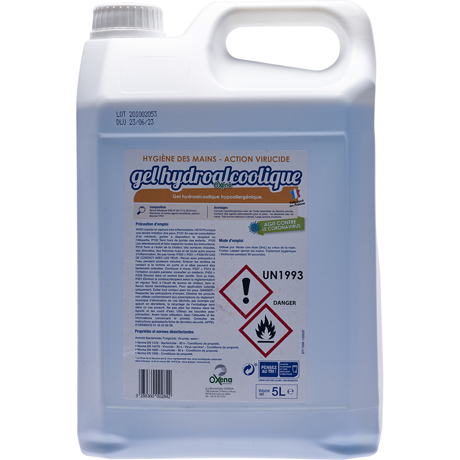 Oxena Gel hydroalcoolique -