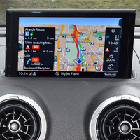 Audi MMI Navigation Plus - Vue principale