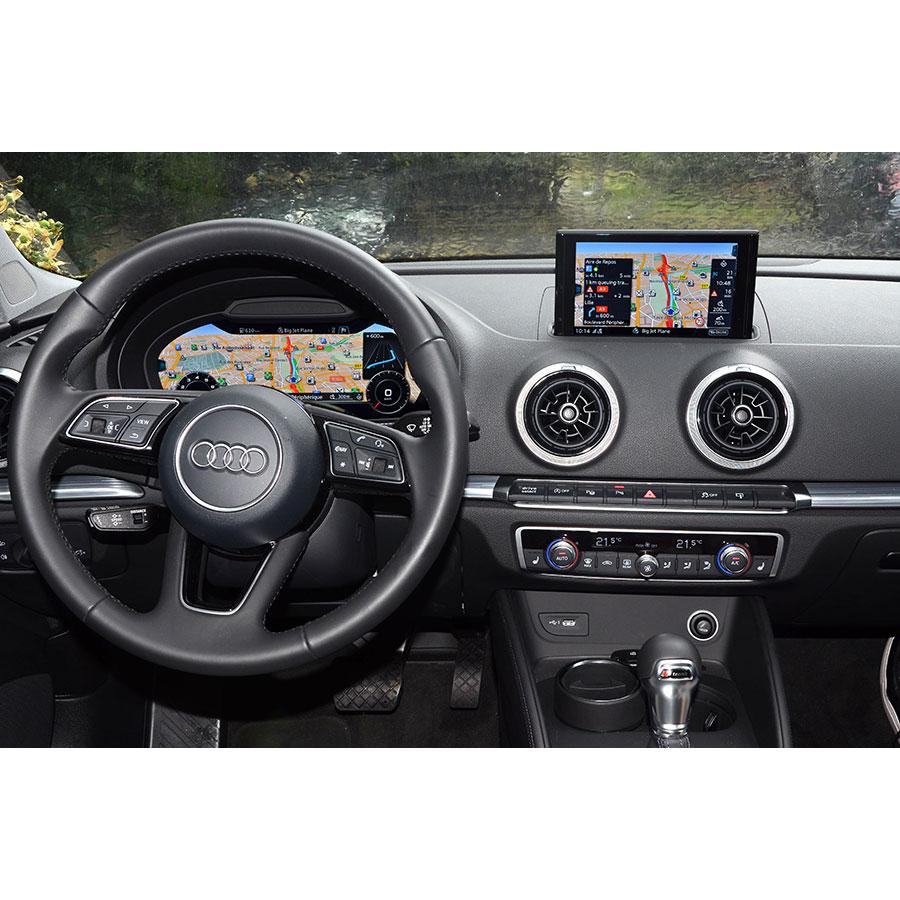 Audi MMI Navigation Plus - Tableau de bord