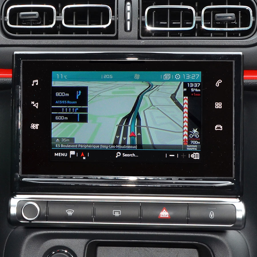 Citroën Connect Nav (C3 Puretech 110 EAT6 Shine) - Vue principale