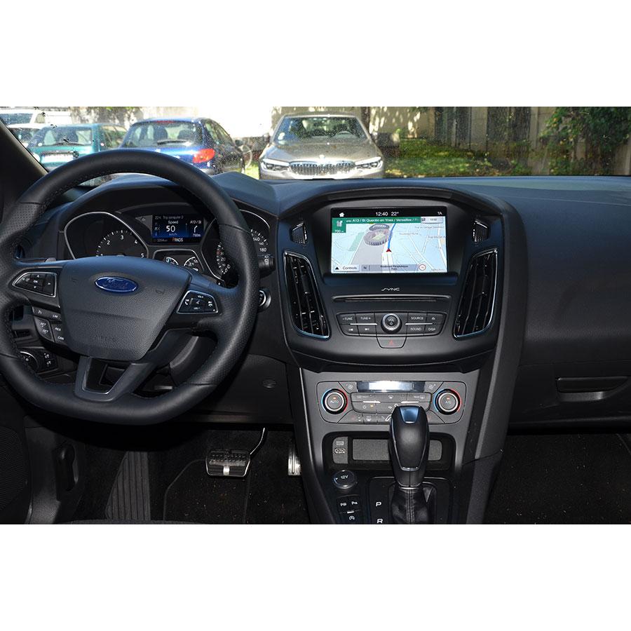 Ford Sync 3 (Focus) - Tableau de bord